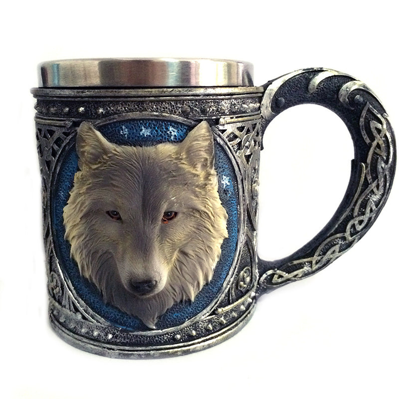 Game of Thrones 3D Wolf Mug
