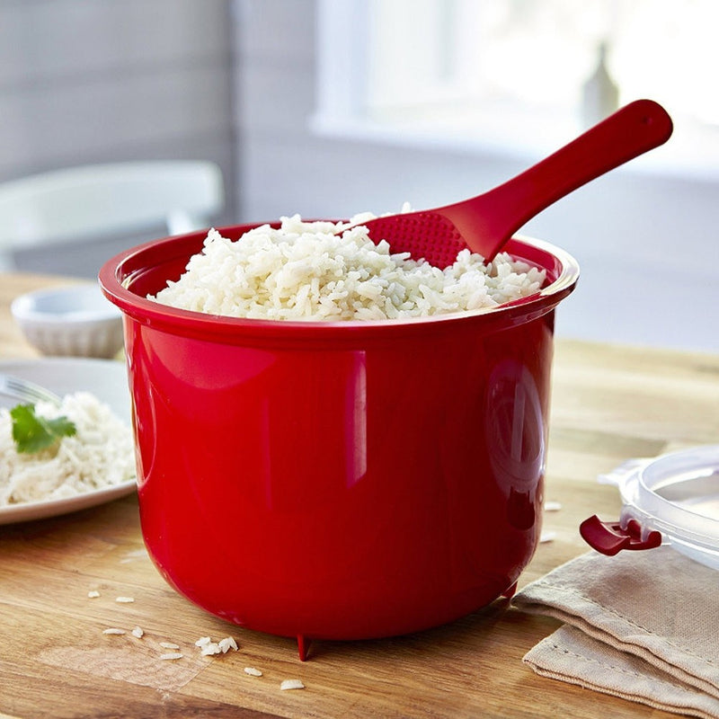 Eco-Friendly Plastic Microwave Rice Steamer