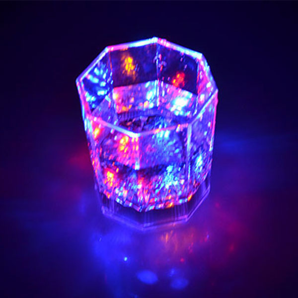 Colorful Flashing Led Light cup Magic Wine Cup