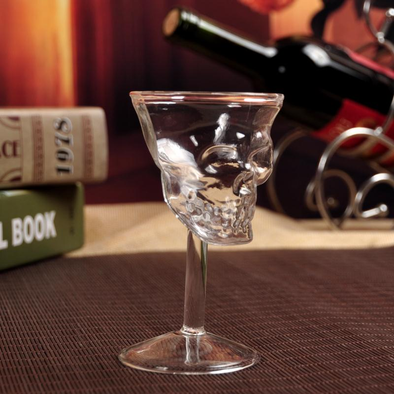 Crystal Skull Head Vodka Whiskey Drinking Glass