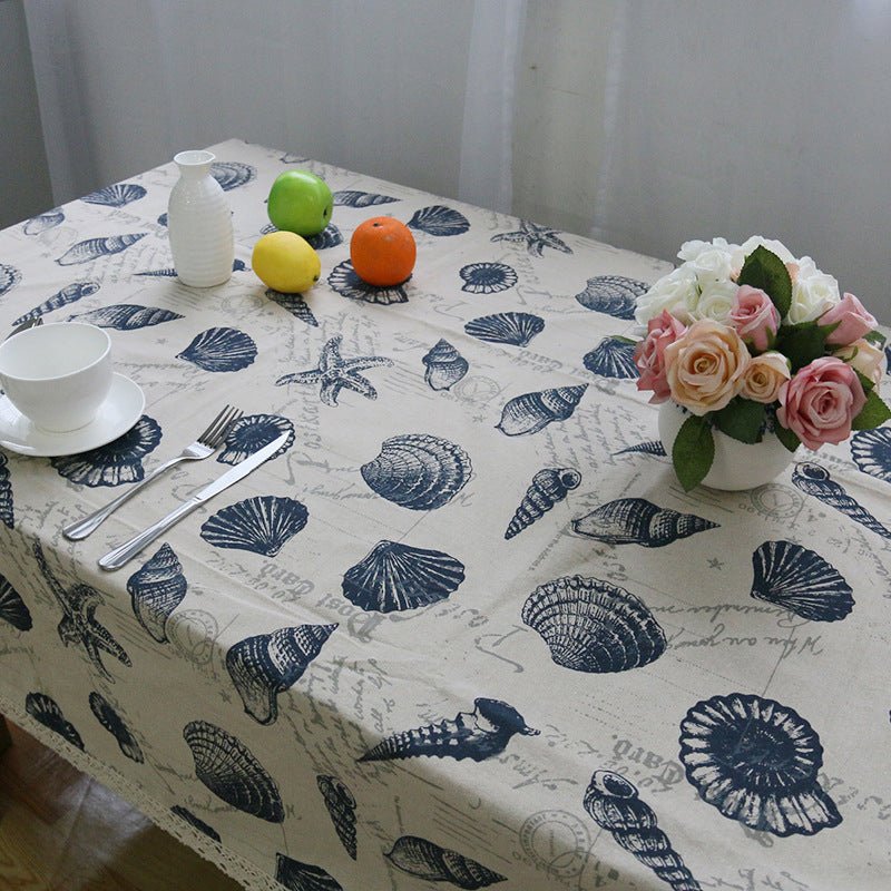 Table Cloth Sea Creature High Quality