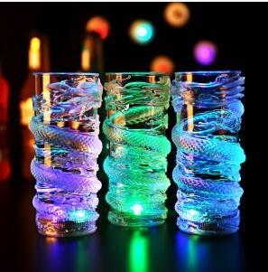 Creative Colorful LED Light Flash Beer Cup