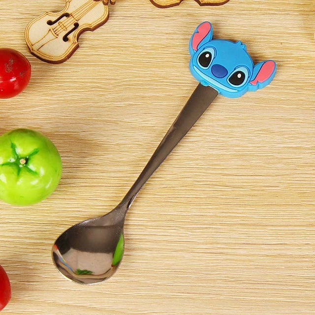 Baby Feeding Spoon Kawaii Cutlery Cartoon