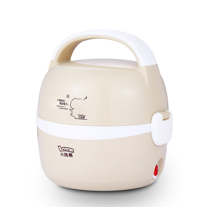 Stainless Steel Inner Heating Rice Cooker Lunch Box