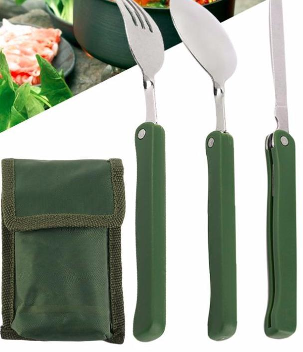 Fork Spoon Knife Picnic Dinnerware Camping Set