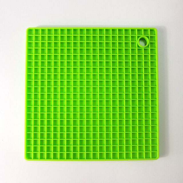 17x17cm Square Bakeware Pan Heat Resistant Nonstick Silicone Baking Mats