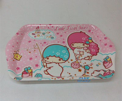 Cheap Creative HELLO KITTY cute cartoon small serving tray