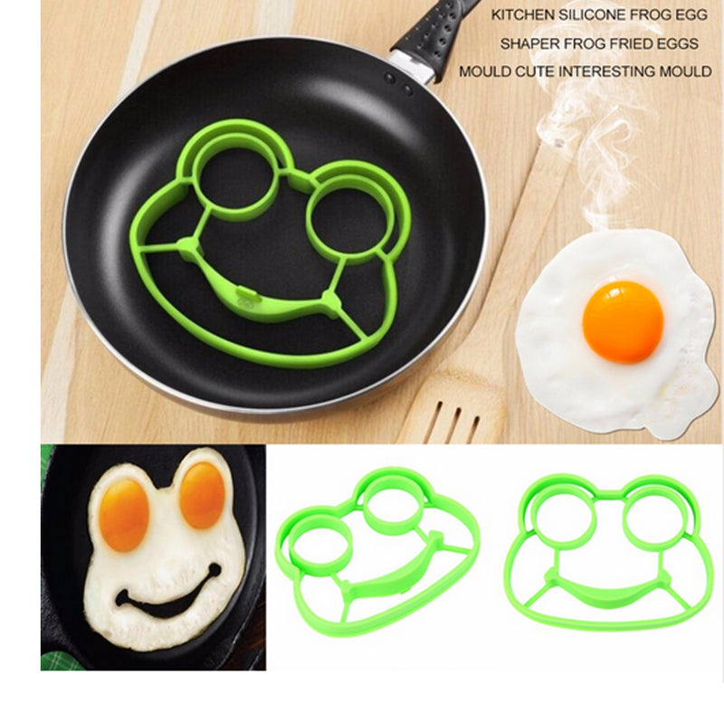 1pc Breakfast Silicone Rabbit Fried Egg Mold Pancake Ring Shaper Cooking Tools