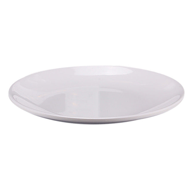 Hot Selling Plate Food Pastry Fruit Tray Cake Dishes Round Dinnerware