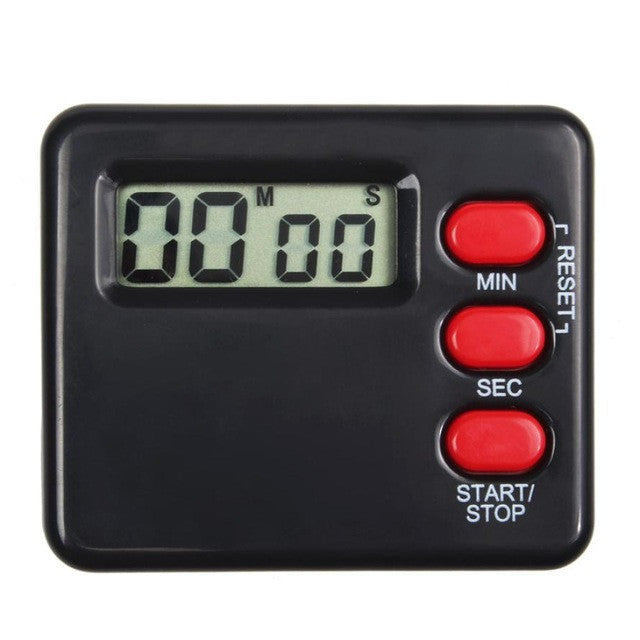 Kitchen Clock Timer 99 Minute Digital LCD Sport Countdown Calculator