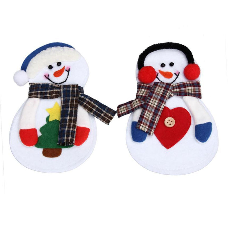 Christmas Snowman Tableware Cutlery Sets