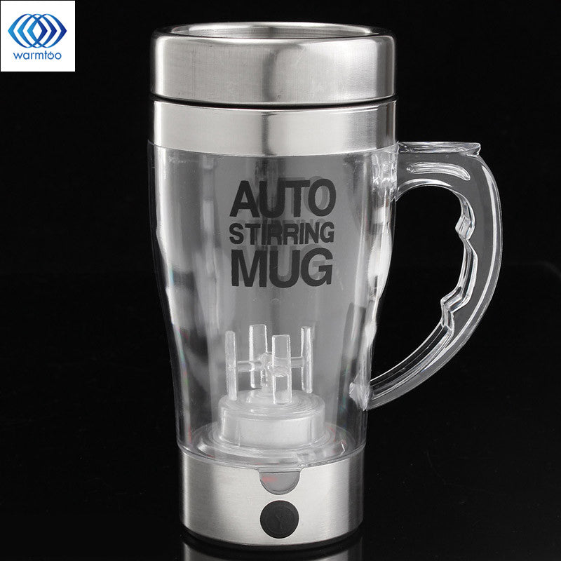 Self Stir Milk Coffee Cup Smart Mixer