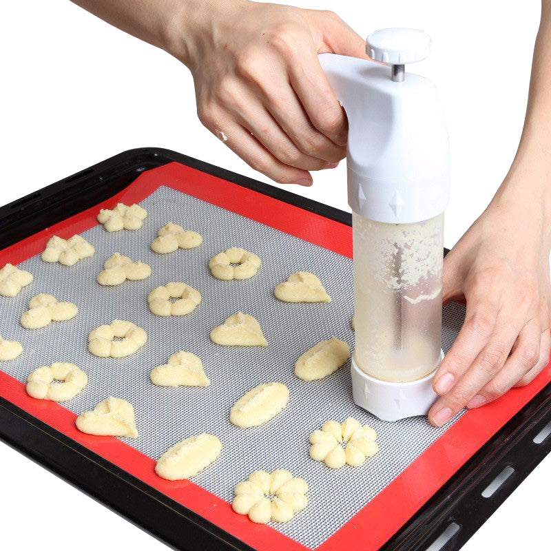 Cookie Presses Pastry Stamp Moulds Stencils Bakeware Cooking Tools