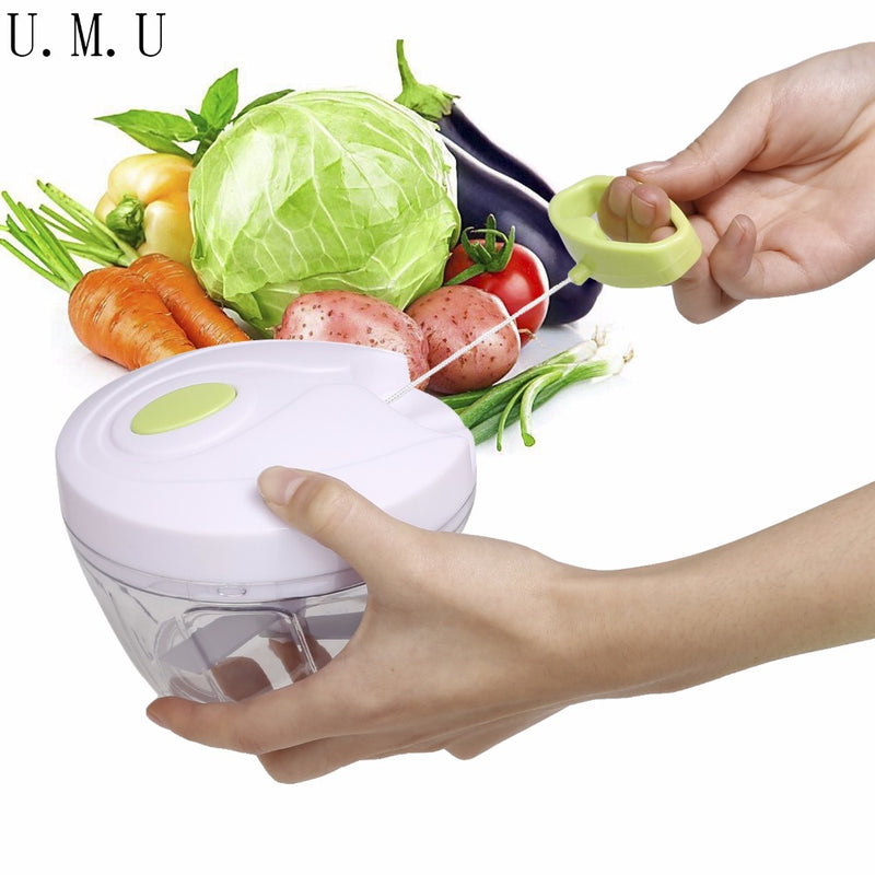 Mini Portable Food Chopper Garlic Cutter