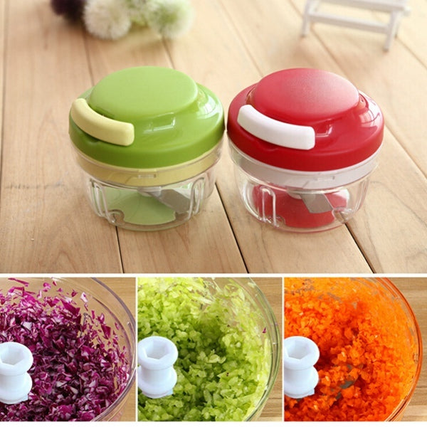 Kitchen Spiral Slicer Food Chopper
