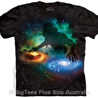 DJ Galaxy T-Shirt - Label U.S XL (Fits AUST XL)
