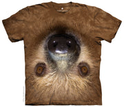 Upside Down Sloth T-Shirt - Label U.S 2XL (Fits AUST 3XL)