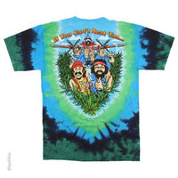 Cheech & Chong Tie Dye T-Shirt - Label U.S Medium (Fits AUST Small)