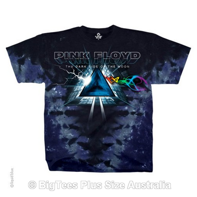 Pink Floyd Dark Side Vortex T-Shirt - Label U.S 4XL (Fits AUST 7XL)