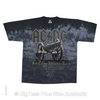 ACDC Cannon Tie Dye Rock T-Shirt - Label U.S 6XL (Fits AUST 10XL)