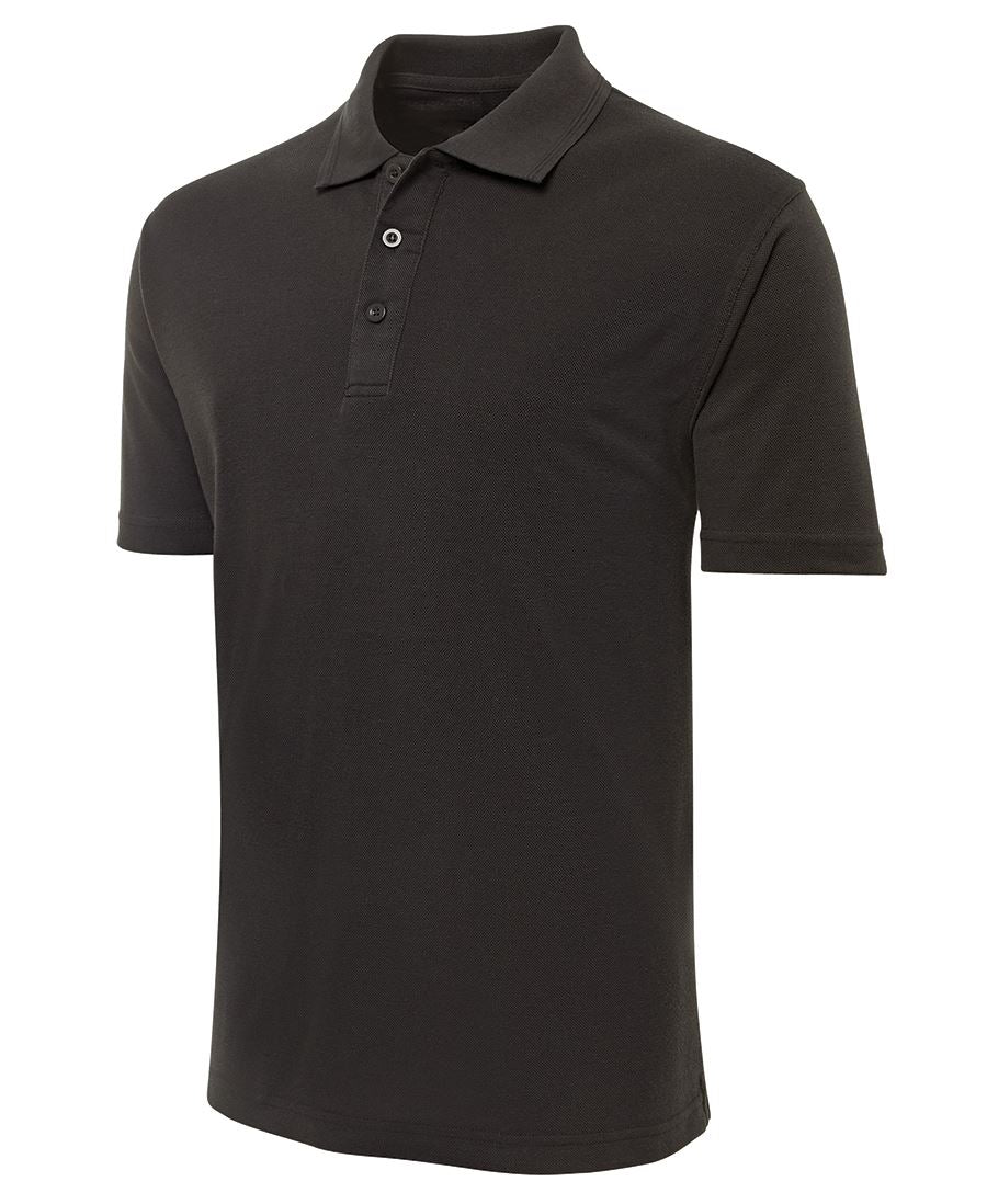 Black Polo Shirt - Big Men's Size