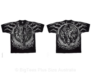 Dragon Dreamcatcher Double-Sided T-Shirt - U.S 6XL (Fits AUST 11XL)