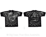 Wolf Dreamcatcher Double-Sided T-Shirt - U.S 4XL (Fits AUST 8XL)