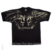 Good vs Evil T-Shirt (Black) - U.S 4XL (Fits AUST 8XL)