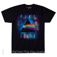 Pink Floyd Dark Side Space T-Shirt (Black) - Label U.S XL (Fits AUST 2XL)