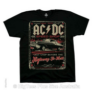 ACDC Speedshop T-Shirt - Label U.S 3XL (Fits AUST 6XL)