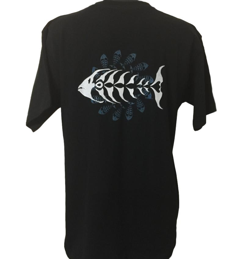 Back Print of Primal Surf T-Shirt (Double Sided, Regular and Big Sizes)