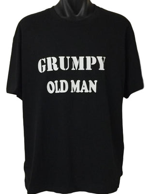 Grumpy Old Man T-Shirt (Regular and Big Sizes)