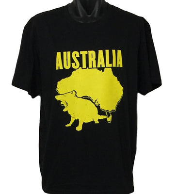 Tasmanian Devil T-Shirt (Black, Regular and Big Sizes)