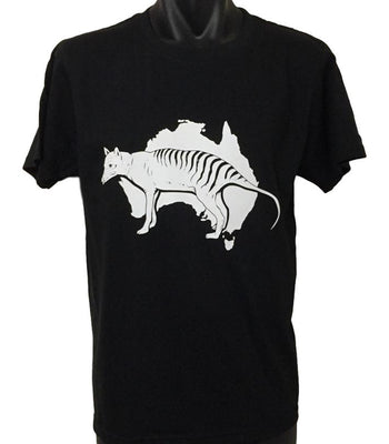 Tasmanian Tiger T-Shirt (Black, Regular and Big Sizes)