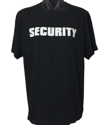 SECURITY T-Shirt (Regular and Big Mens Sizes)