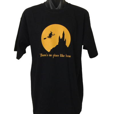 There's No Place Like Home Witch T-Shirt (Regular and Big Sizes)