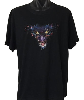 Purple Dragon Head T-Shirt (Regular and Big Sizes)