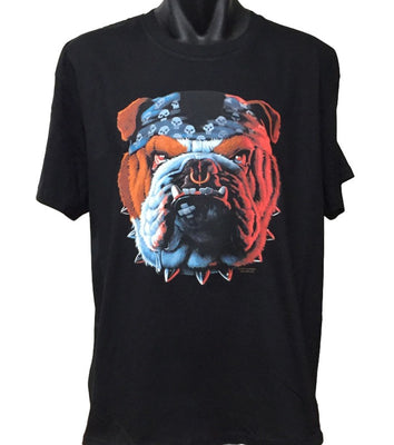 Tuff Bulldog Face T-Shirt (Regular and Big Sizes)