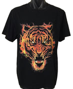 Fire Tiger T-Shirt (Regular and Big Sizes)