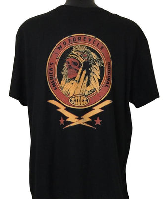 Custom Tradition Motorcycle T-Shirt (Back Print)