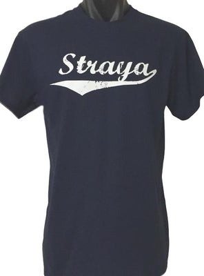 Straya T-Shirt (Light Navy, Regular and Big Sizes)