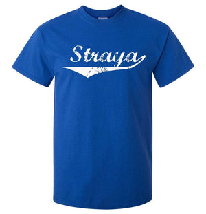 Straya T-Shirt (Royal Blue, Regular and Big Sizes)