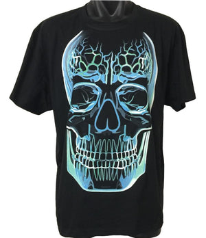 Glass Skull T-Shirt (Regular and Big Sizes)