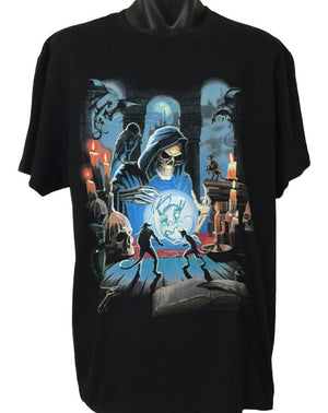 Grim Reaper Spell T-Shirt (Regular and Big Sizes)