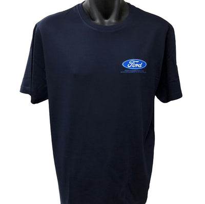 Ford Logo T-Shirt (Navy, Regular and Big Sizes)