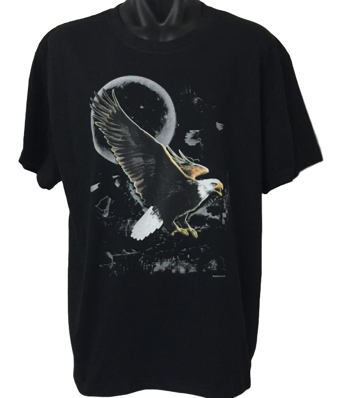 Eagle Wilderness T-Shirt (Regular and Big Sizes)