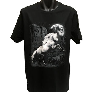 White Horse Wilderness T-Shirt (Regular and Big Sizes)