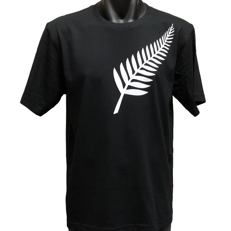 989a7e8d5c Silver Fern T-Shirt (Regular and Big Mens Sizes) | BigTees Australia ...