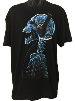 Skelephones T-Shirt (Regular and Big Sizes)