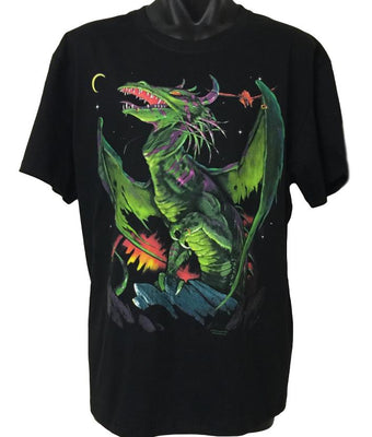 Winged Warrior Dragon T-Shirt (Regular and Big Sizes)